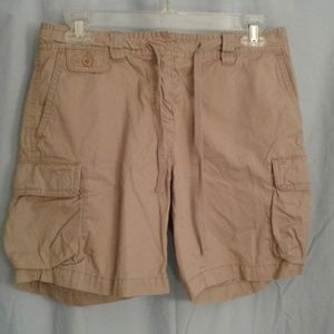 J Crew 2 low fit cargo shorts